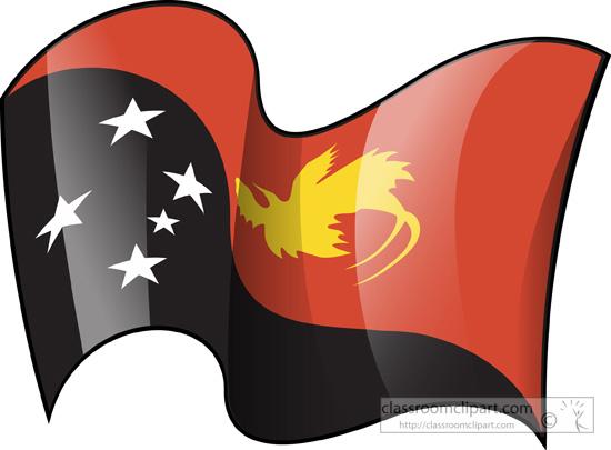 Guinea flag clipart.