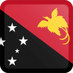 Papua New Guinea flag clipart.