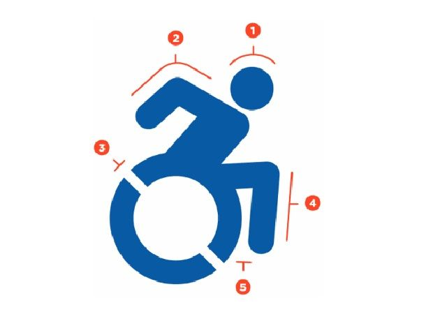 The traditional handicap sign is getting an upgrade to a new.