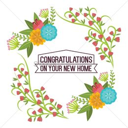 Download congrats on your new home clipart Clip art.