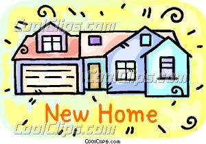 73+ New Home Clip Art.