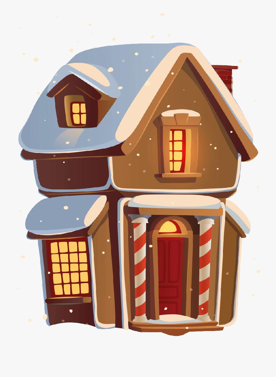North Pole Home Clip Art.