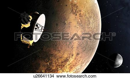 Drawings of Artwork of New Horizons Mission u26641134.