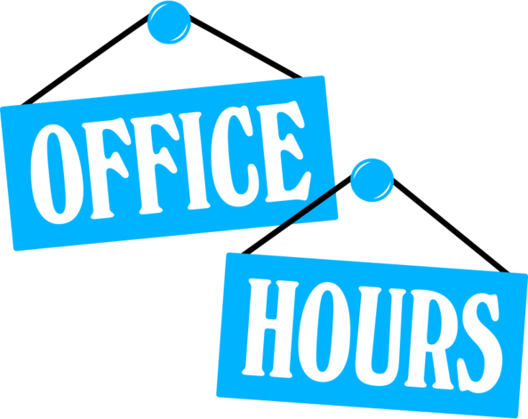 Office hours clipart 1 » Clipart Station.