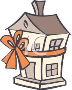 7+ New House Clipart.