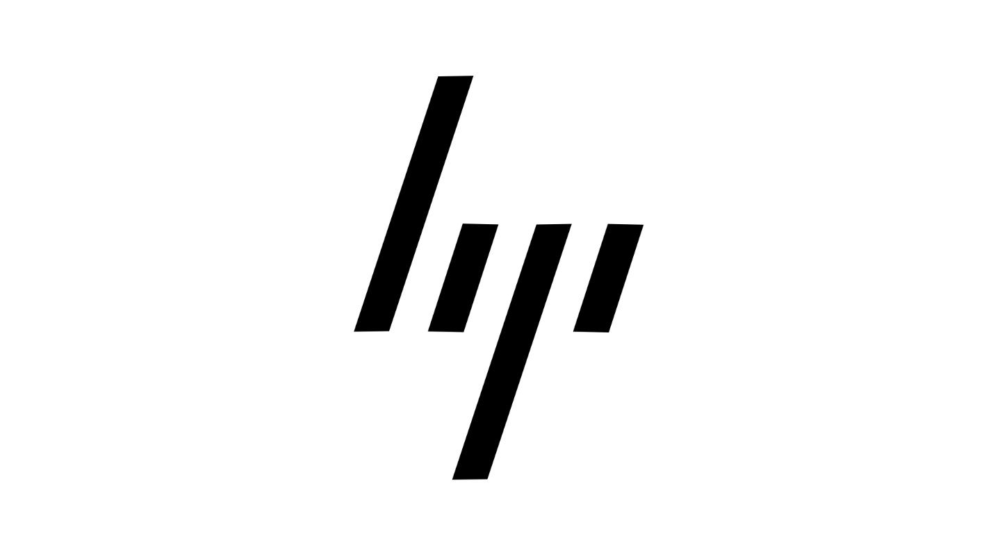 The new HP logo.
