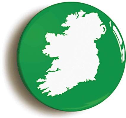 Amazon.com: Ireland Button Pin (Size is 1inch Diameter) Éire.
