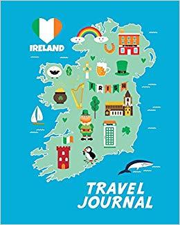 Travel Journal: Map Of Ireland. Kid\'s Travel Journal. Simple.