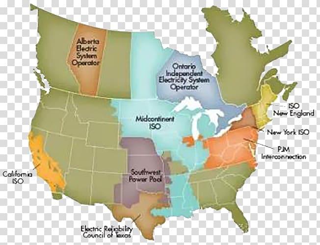 United States Regional transmission organization.