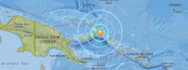 Strong and shallow M6.4 earthquake hits near the coast of.