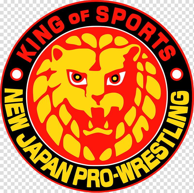 New Japan Pro Wrestling Logo transparent background PNG.