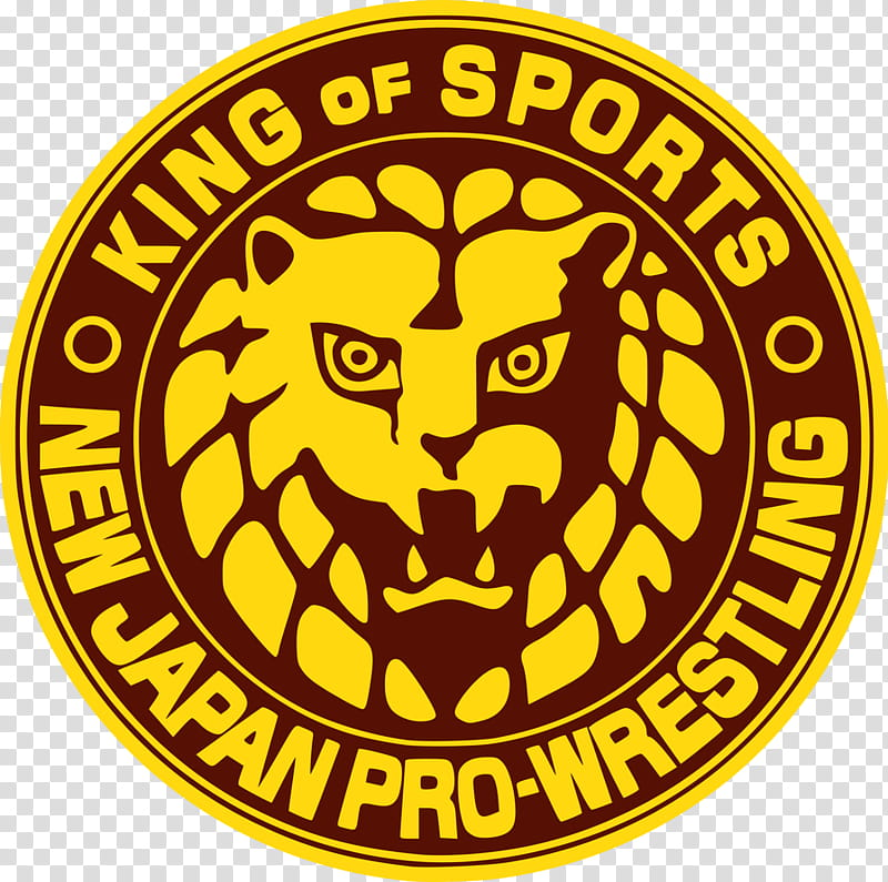 New Japan Pro Wrestling (Yellow And Brown) Logo transparent.