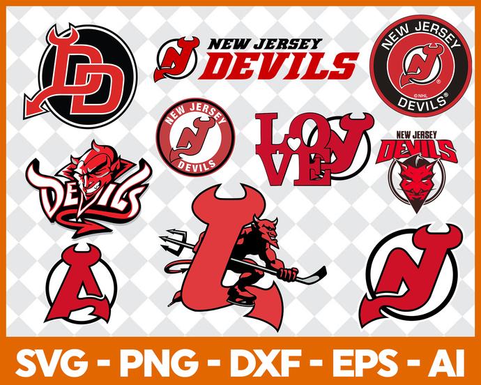 New Jersey Devils, New Jersey Devils svg, New Jersey Devils clipart, New  Jersey Devils logo, New Jersey Devils cricut.