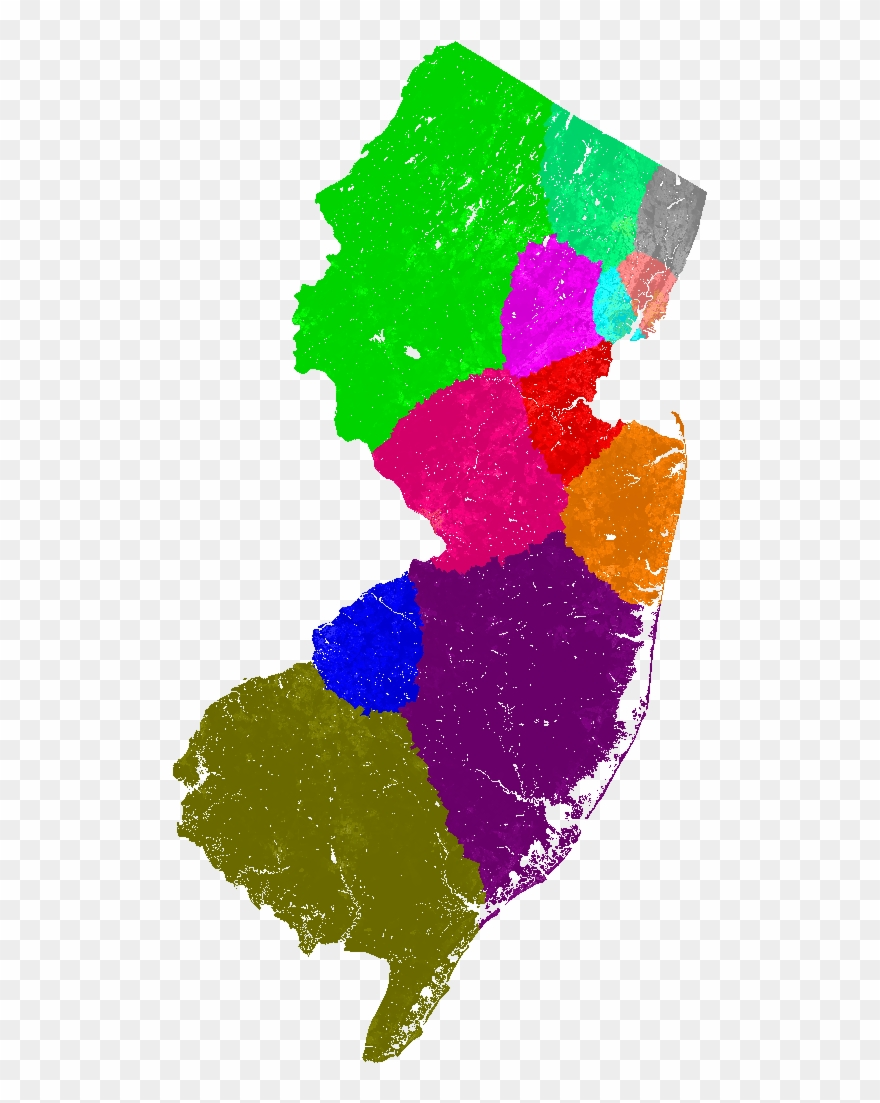 New Jersey Congress Congressional District Map, Current.