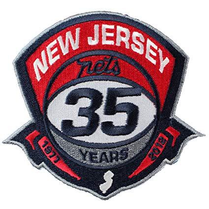 Amazon.com: New Jersey Nets 35th Anniversary Logo Patch.