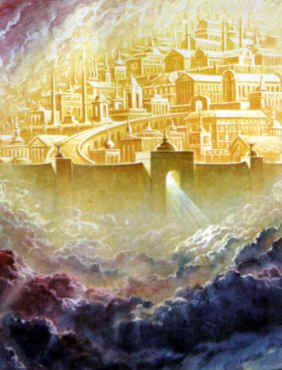 New Jerusalem photos and New Earth images of Jesus.