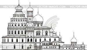New Jerusalem monastery.