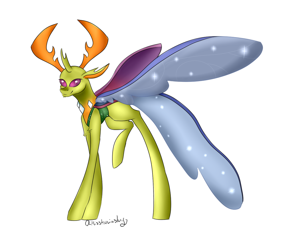 Thorax the New King of changelings by OLmisstaniashy on DeviantArt.