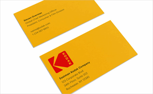 Kodak Goes Back to the 1970s for New Logo Design.