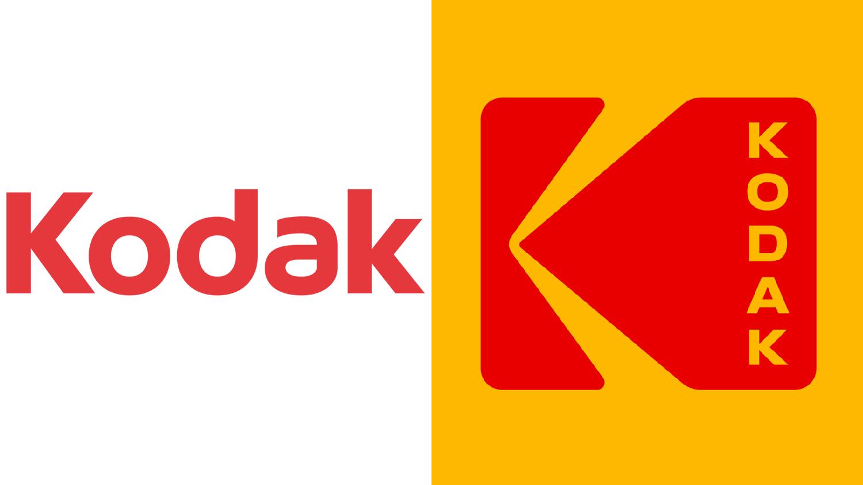 New kodak Logos.