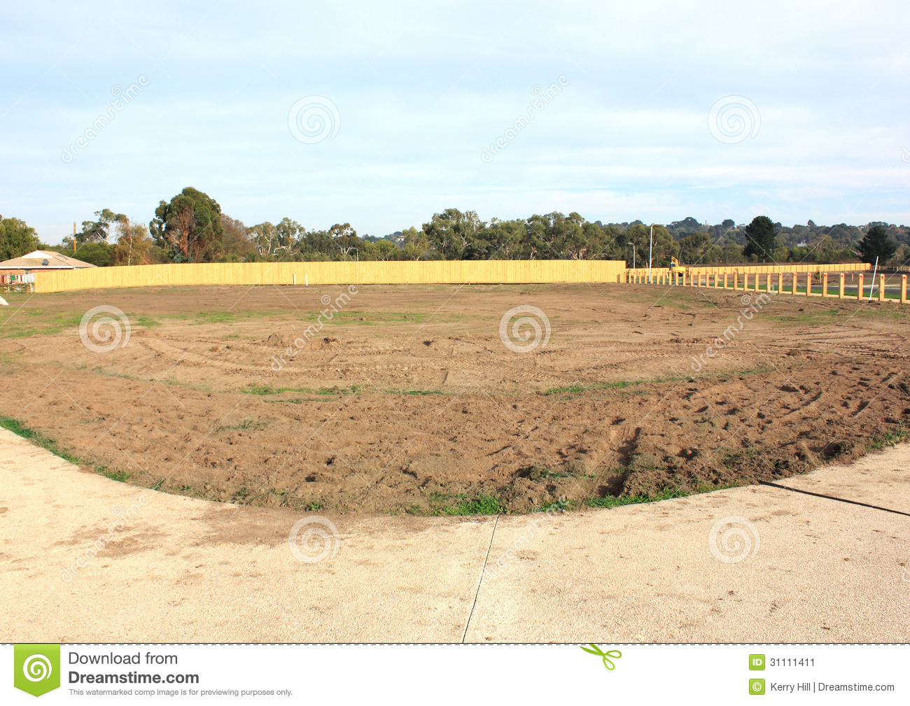 Vacant land clipart.