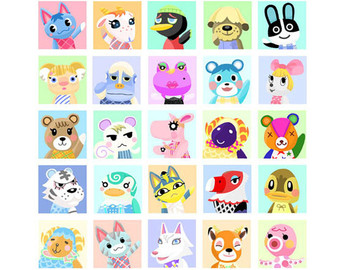 Animal Crossing New Leaf Clipart.