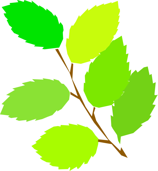 New Leaves Clip Art at Clker.com.