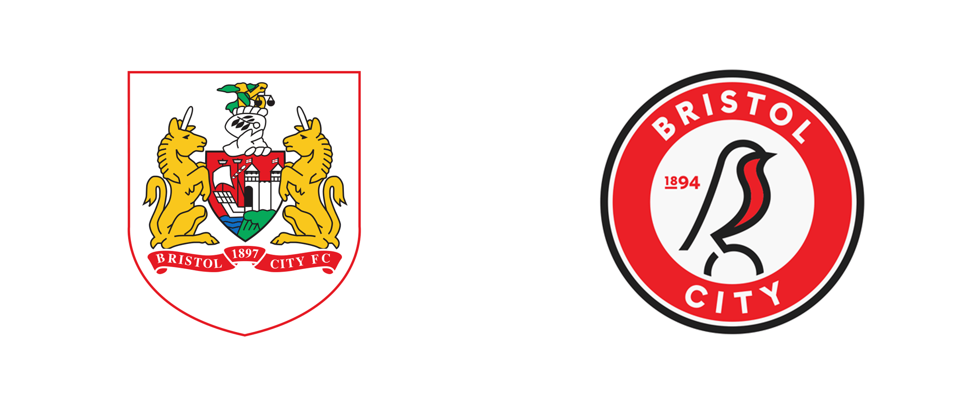 Brand New: New Logo and Identity for Bristol City FC by Mr B.