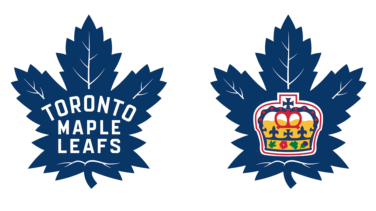 Twitter reaction to Maple Leafs unveiling new logo.