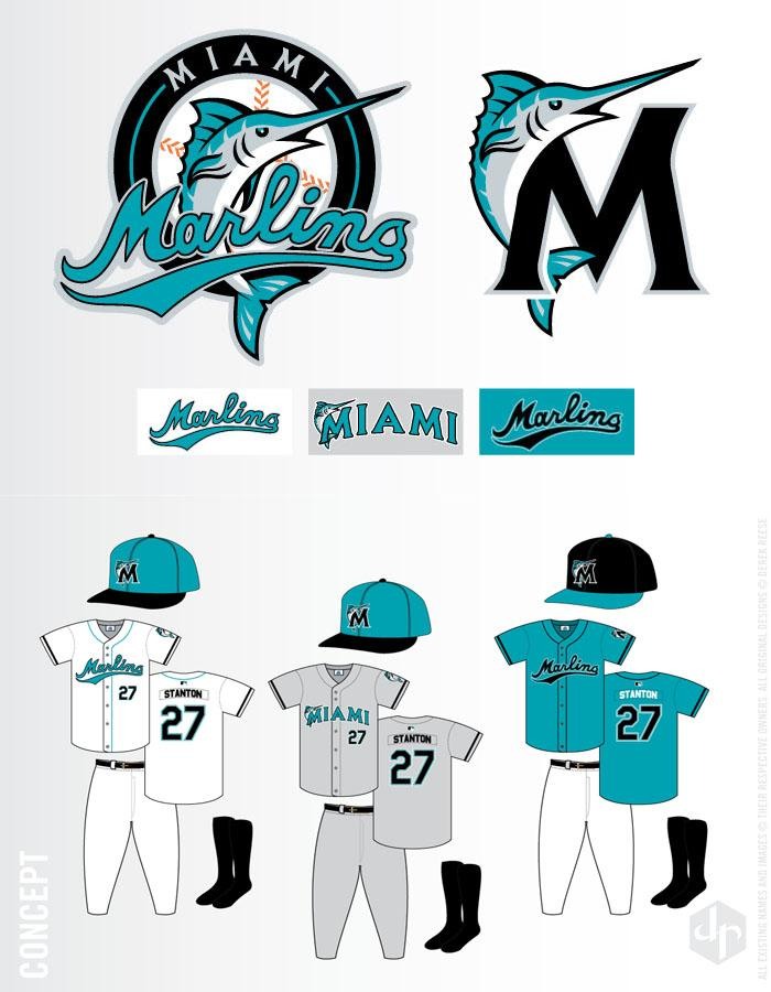 Lots of talk about a probable new Marlins logo ….