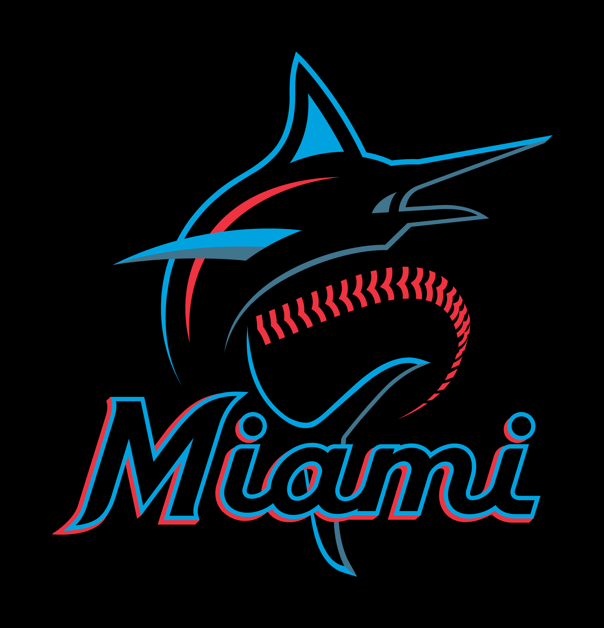New Logo for Miami Marlins.