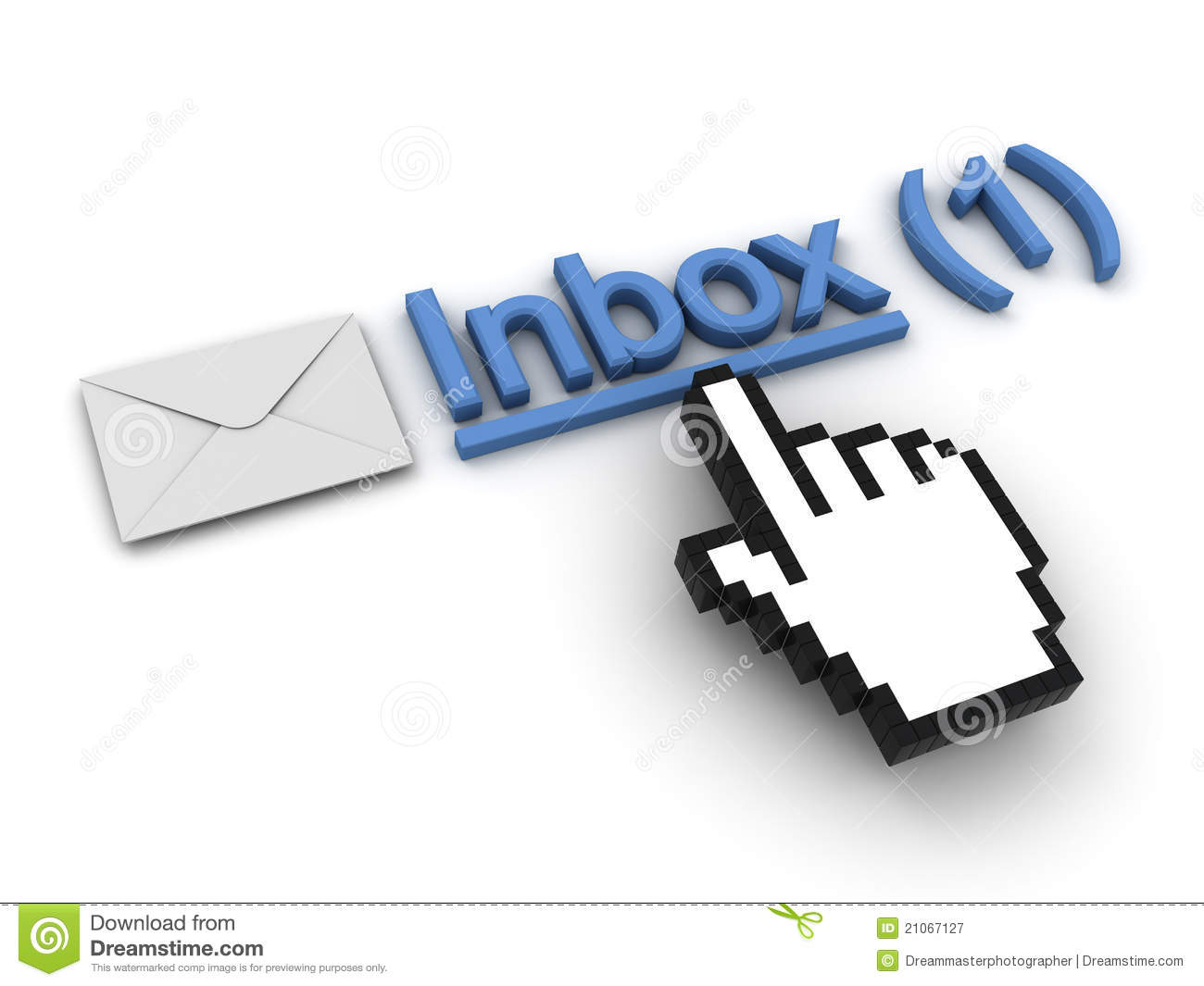 Email Message Clipart.