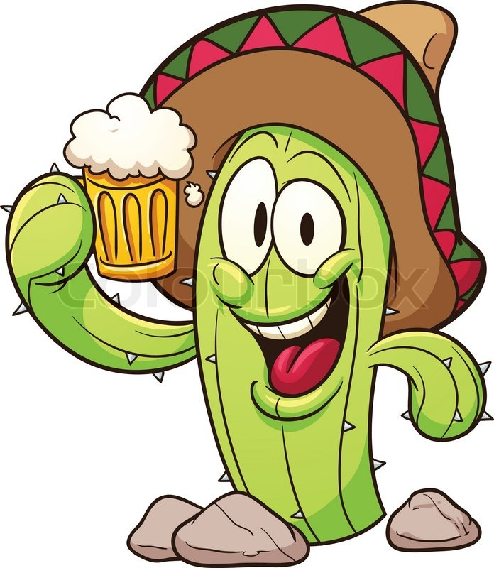 Mexican Cactus Clipart.