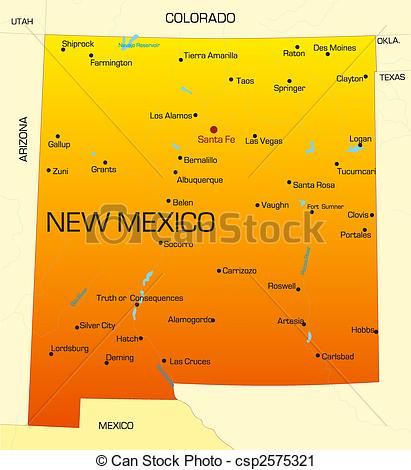 New mexico road clipart #3