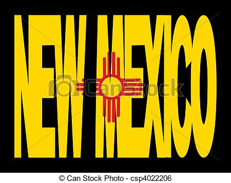 New Mexico Flag Clipart.