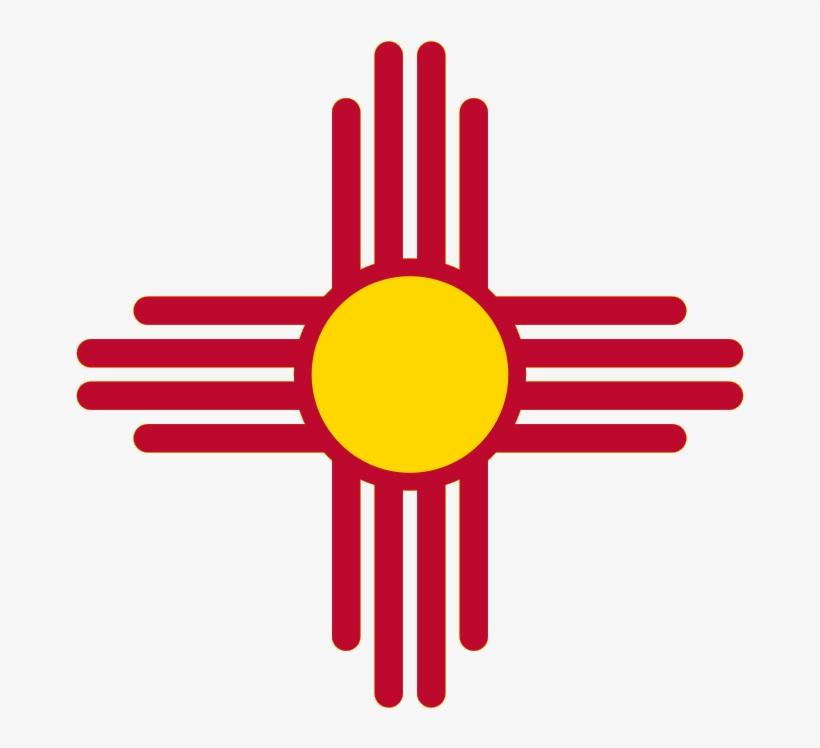 2' X 3' New Mexico Flag.