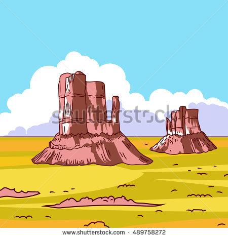 New Mexico Landscape Stock Vectors, Images & Vector Art.
