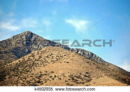 Stock Image of New Mexico Mountains k4502935.