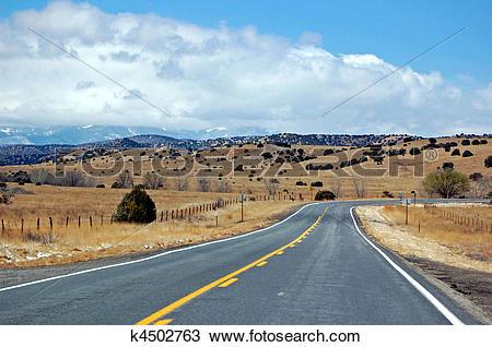Stock Photo of New Mexico Mountains k4502763.