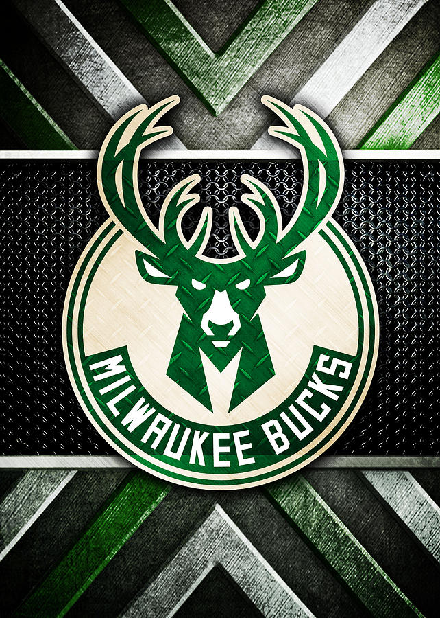 Milwaukee Bucks Logo Art 1.