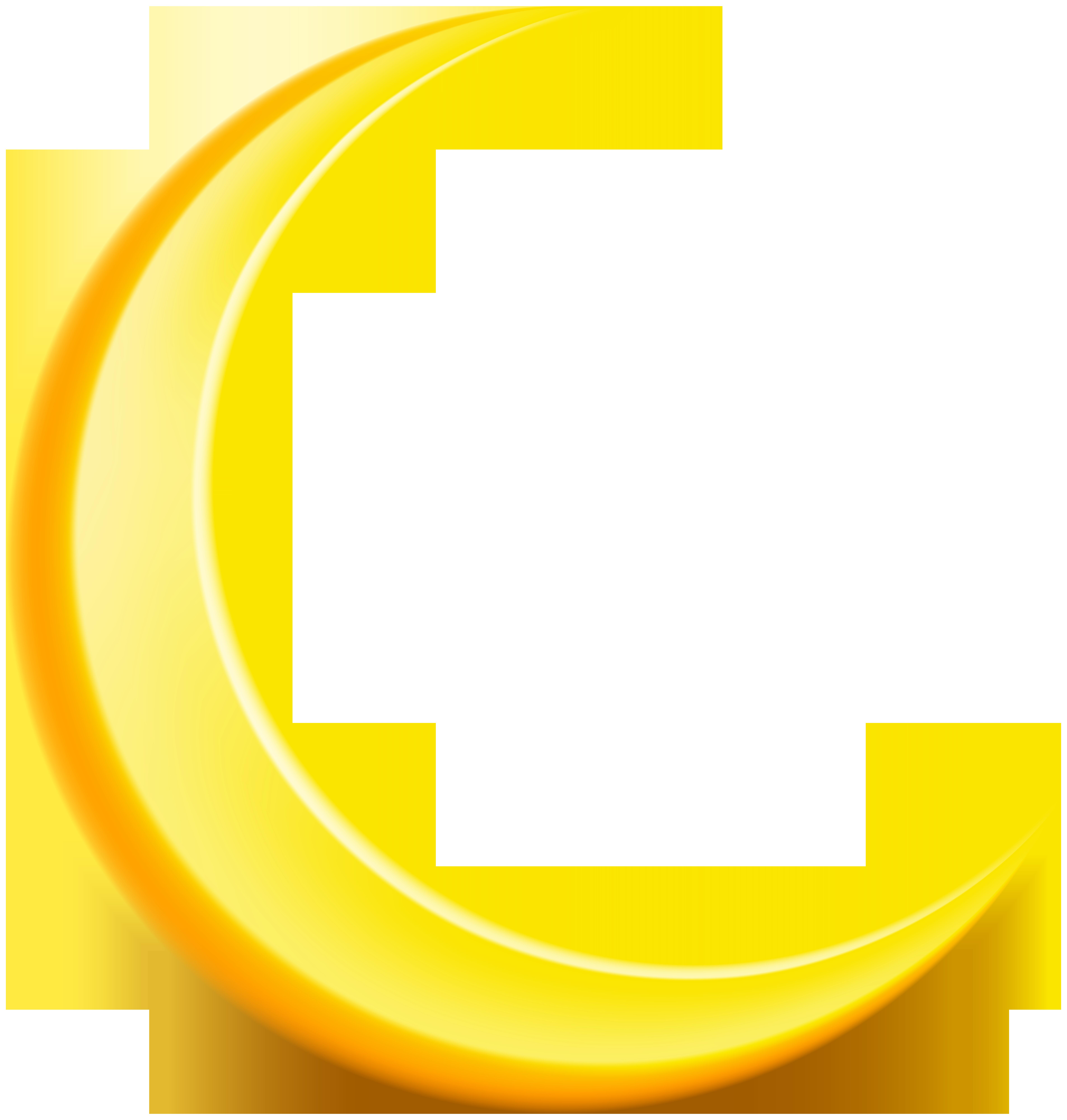 New Moon PNG Clip Art Image.