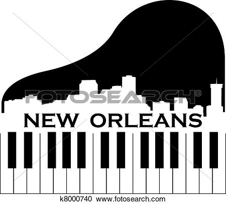 New orleans skyline Clip Art Vector Graphics. 34 new orleans.