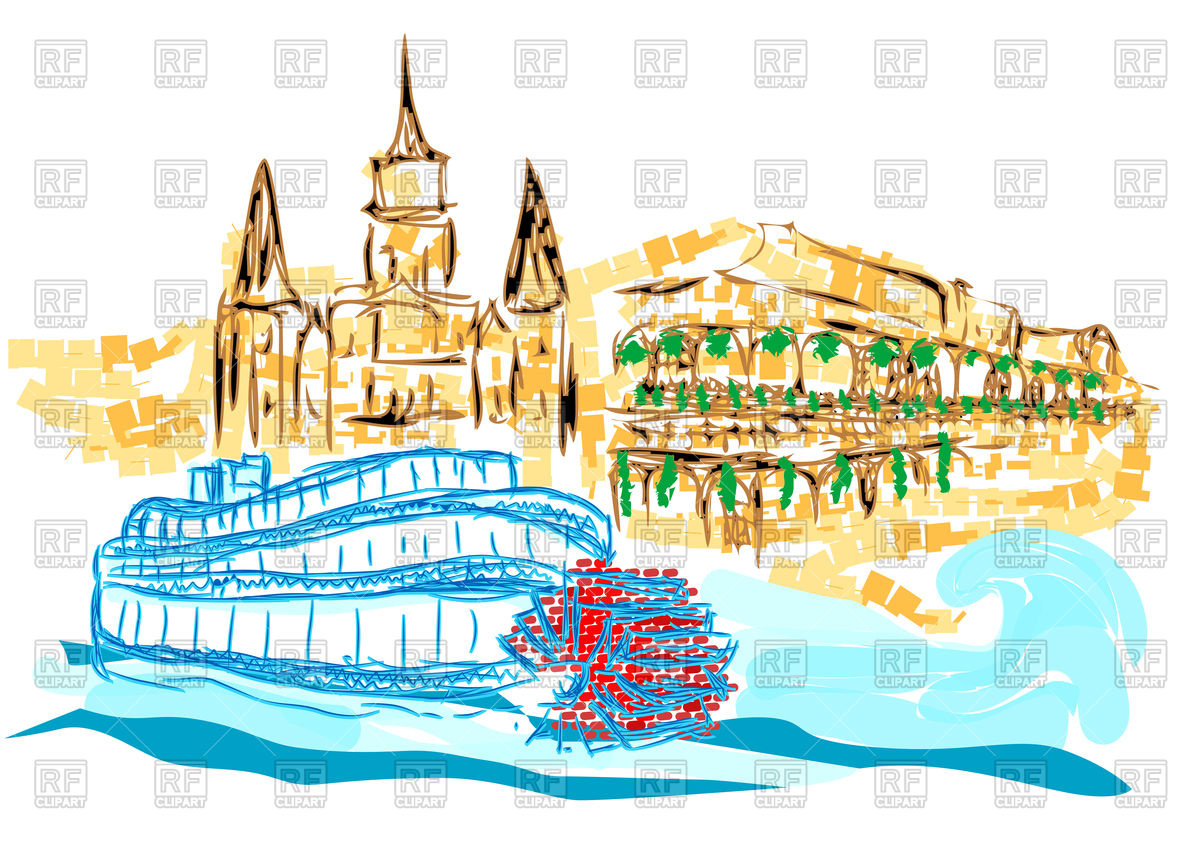 New Orleans background Vector Image #76438.