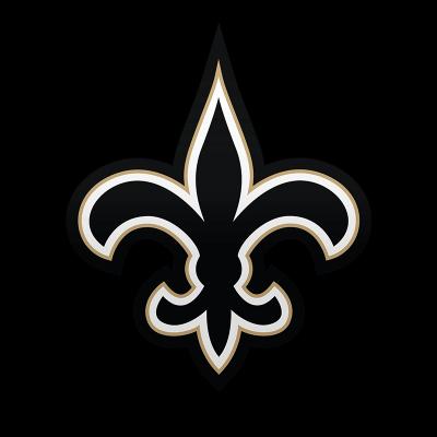 New Orleans Saints Logo transparent PNG.