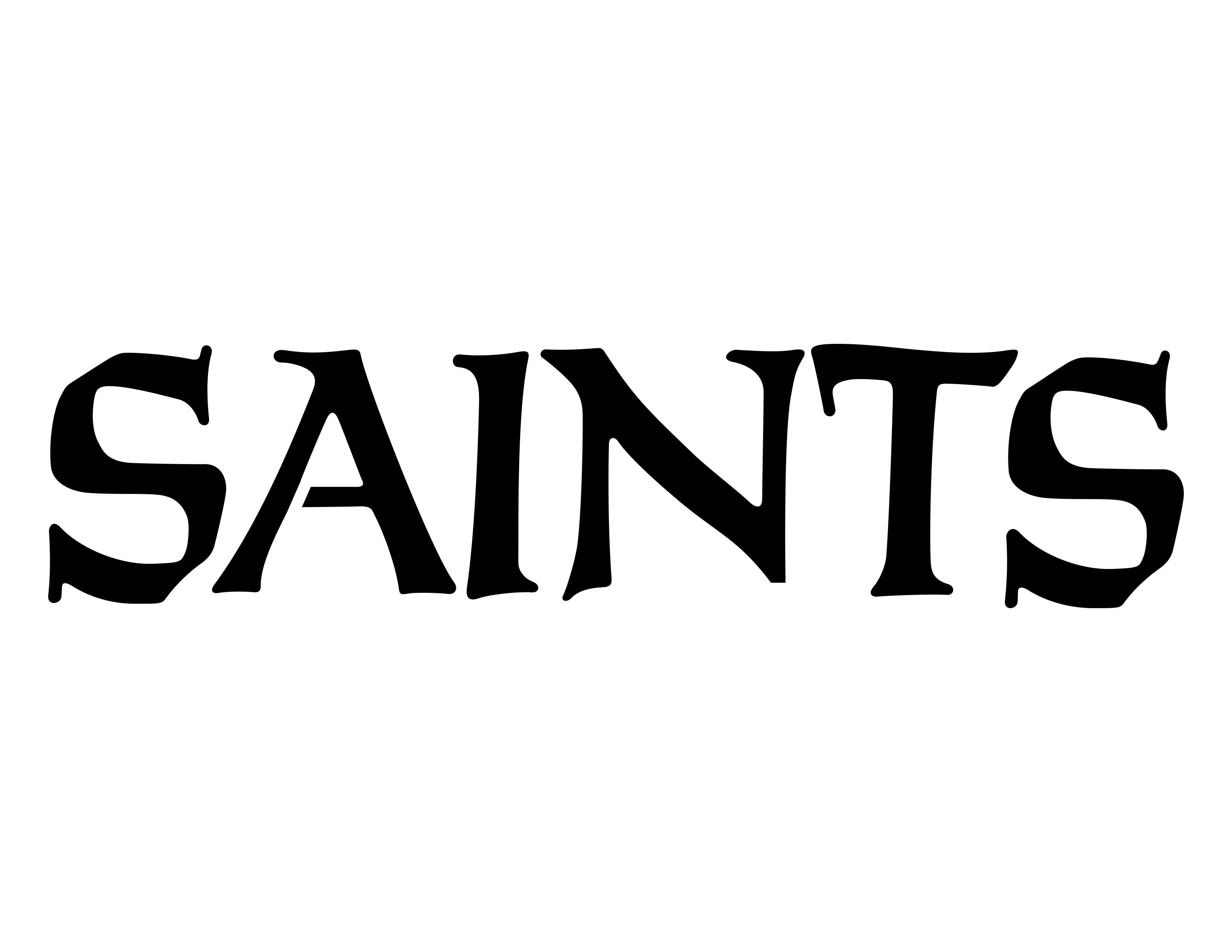 New Orleans Saints pumpkin stencils.