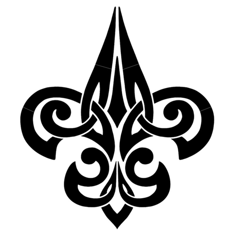Free Saints Fleur De Lis Stencil, Download Free Clip Art.