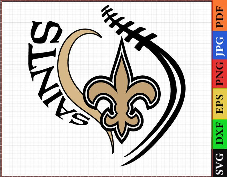 New Orleans Saints SVG Files, New Orleans Saints NFL.