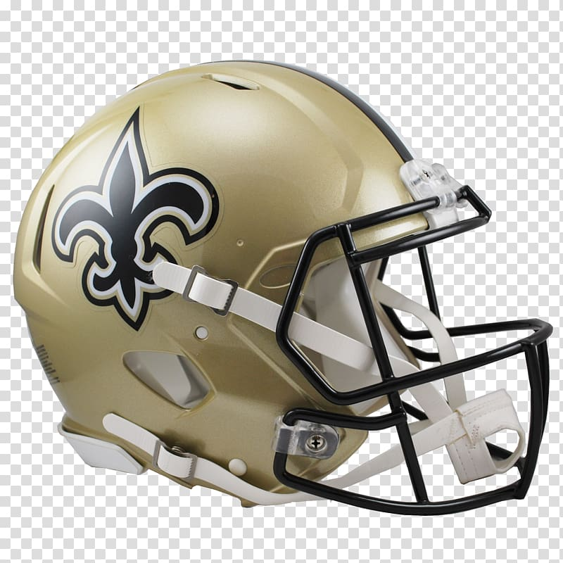 New Orleans Saints NFL American Football Helmets, new york.