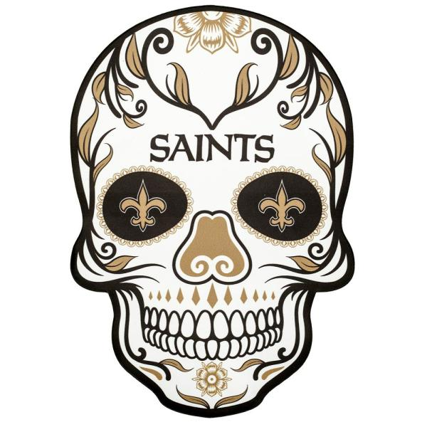 NFL New Orleans Saints Outdoor Skull Graphic.