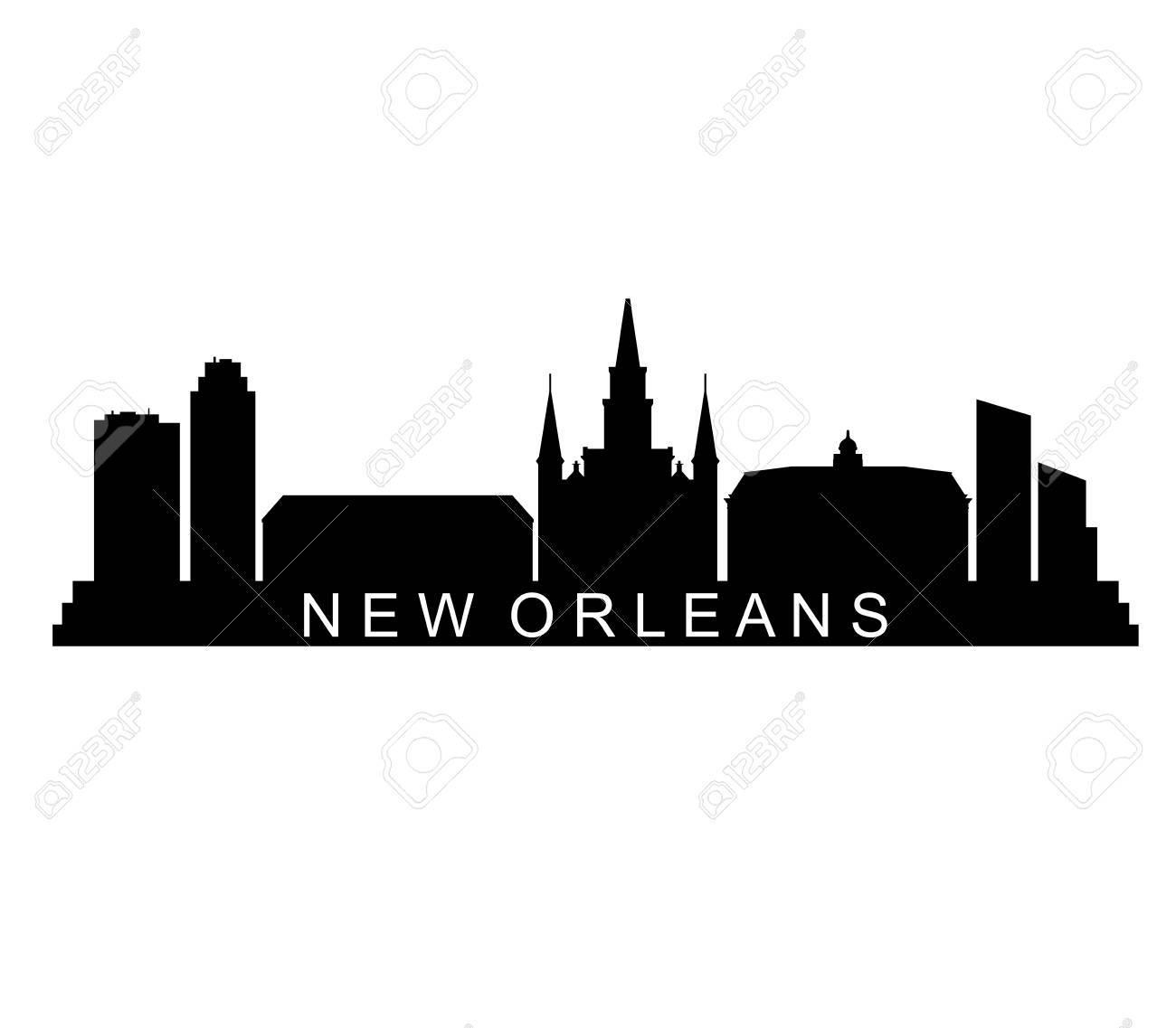 New orleans skyline.